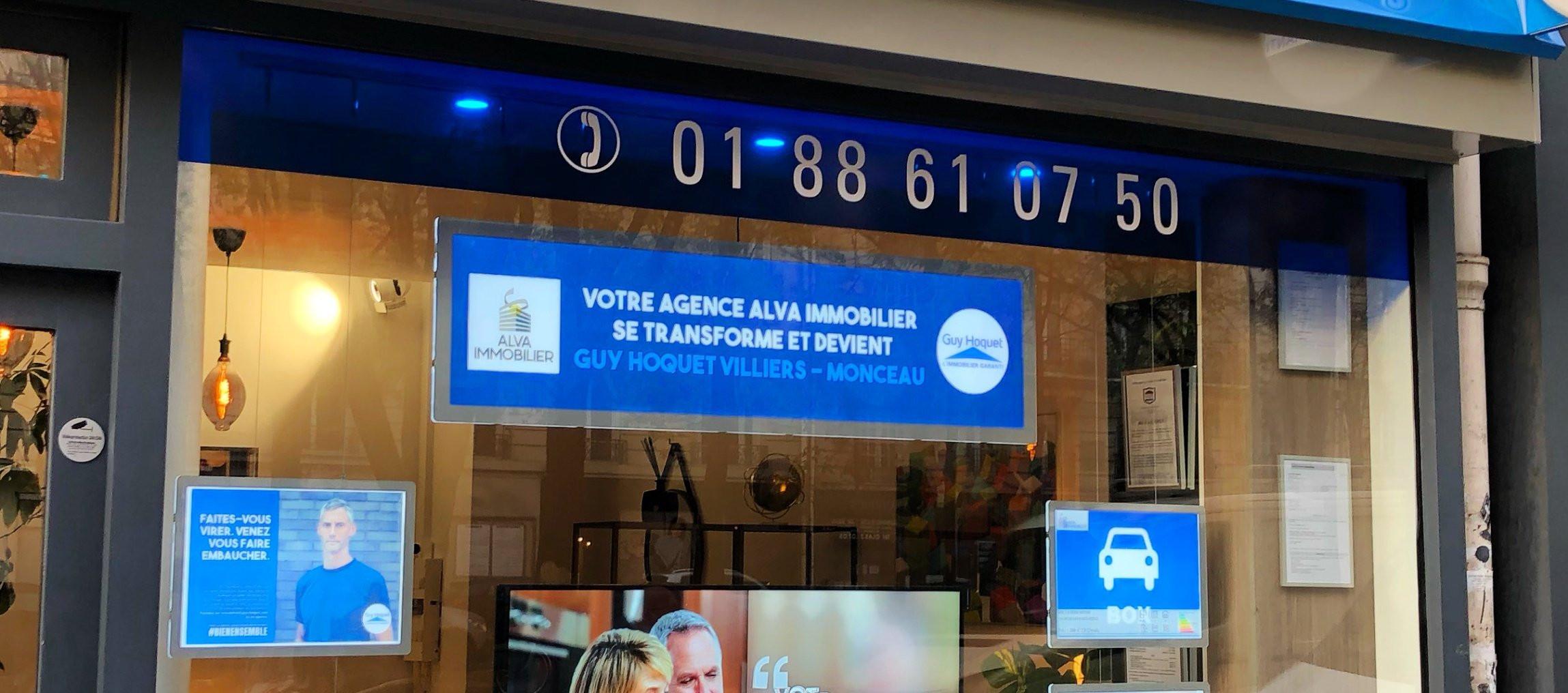 Agence Guy Hoquet PARIS 17 VILLIERS MONCEAU