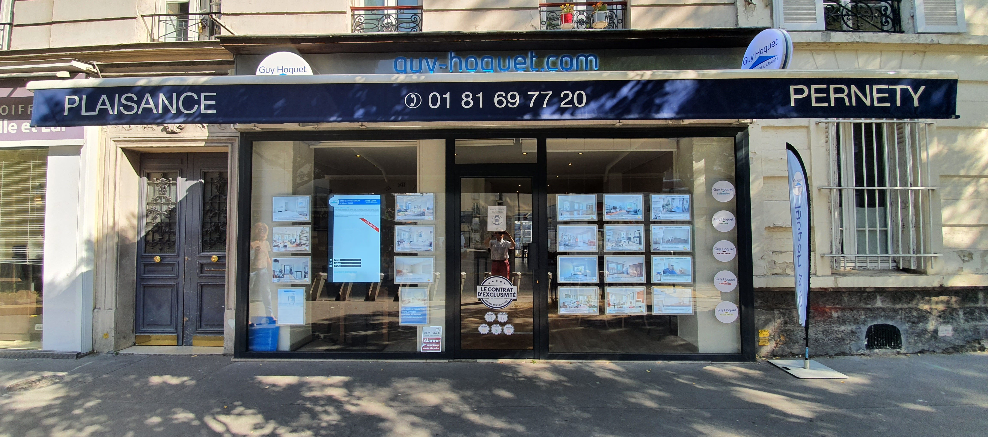 Agence Guy Hoquet PARIS 14 PLAISANCE PERNETY