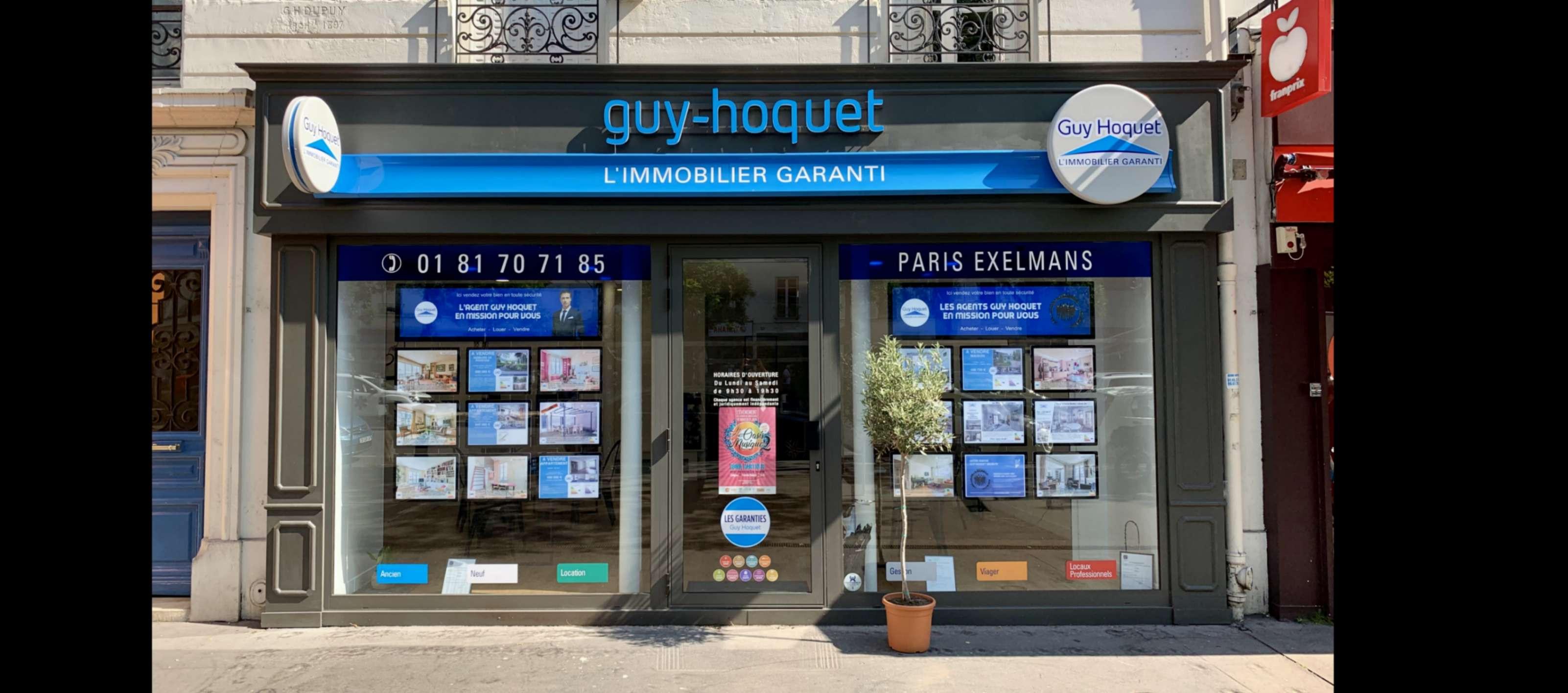 Agence Guy Hoquet PARIS 16 PORTE DE ST CLOUD