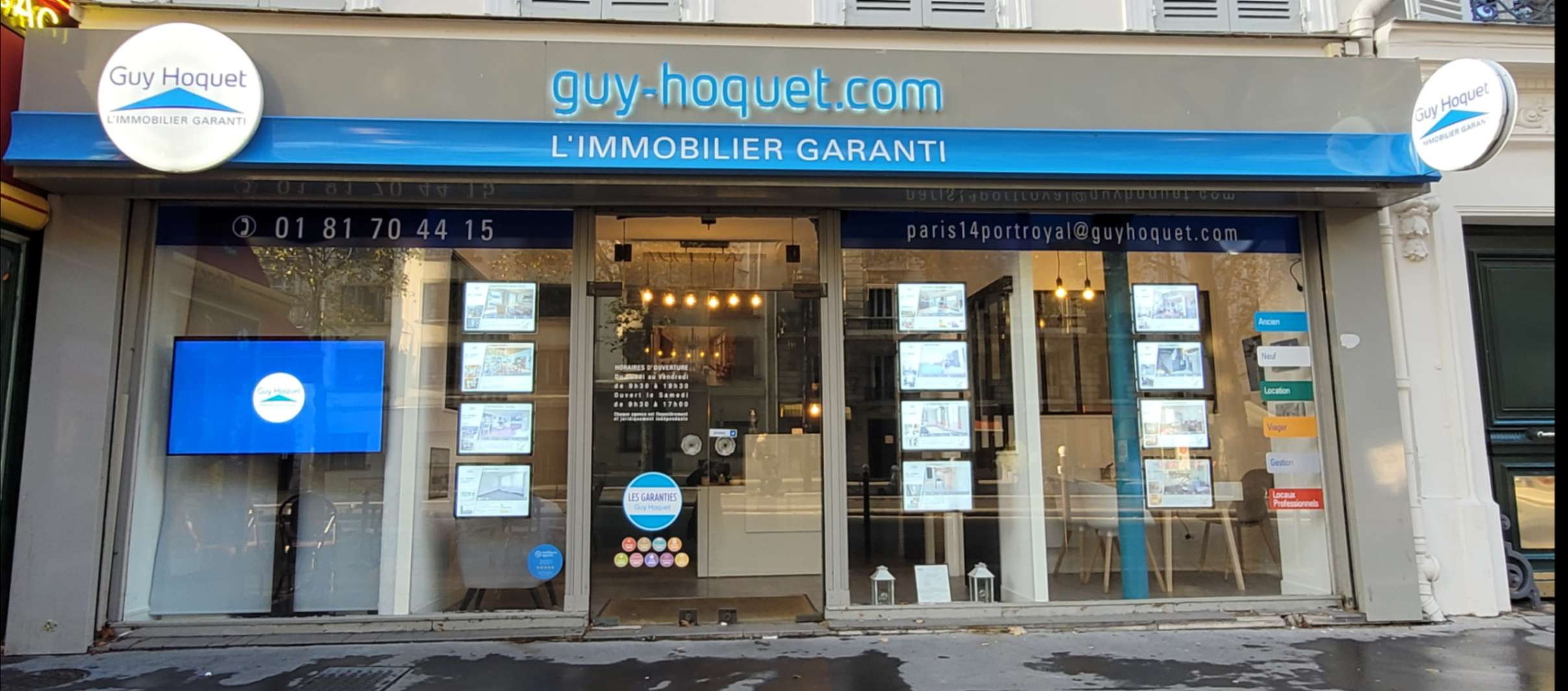 Agence Guy Hoquet PARIS 14 PORT ROYAL