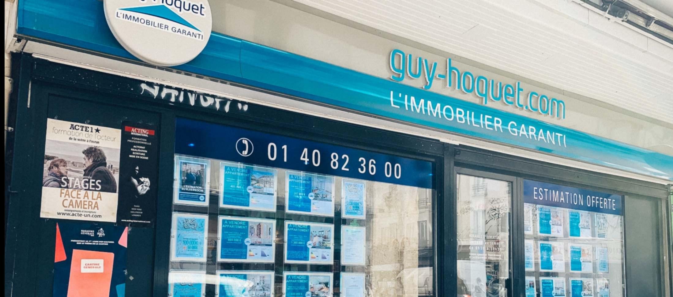 Agence Guy Hoquet PARIS 10 SAINT-LOUIS