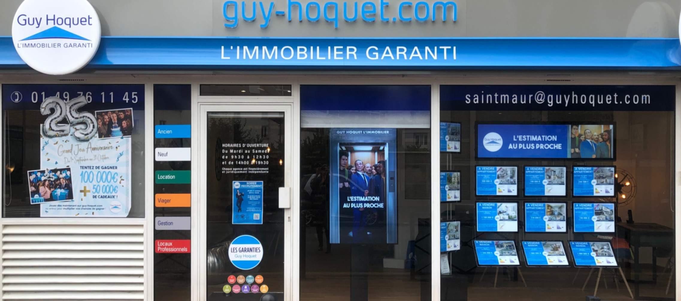 Agence Guy Hoquet SAINT MAUR DES FOSSES